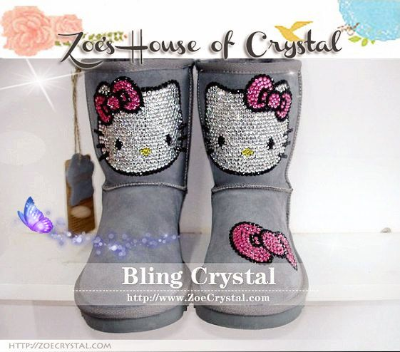 hello kitty ugg style boots