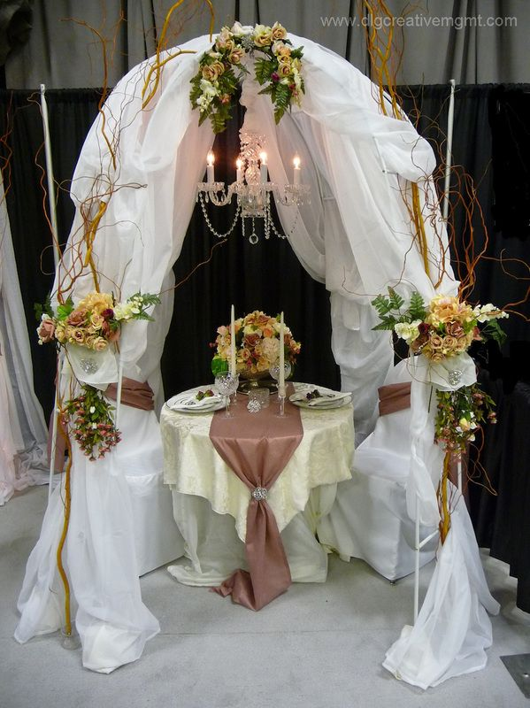 Bridal canopy created by DLG Creative Management Wedding u0026 Events - can be used for ceremony & 35 best ChuppahsCanopies u0026 Arches images on Pinterest | Decor ...