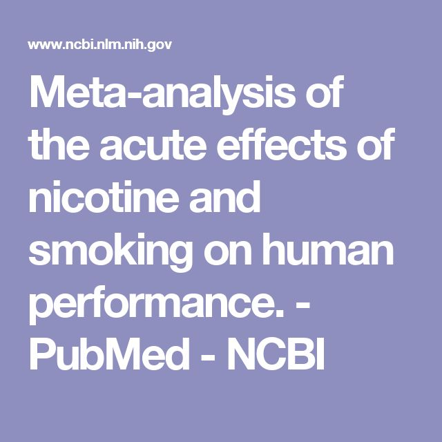 an analysis of the effects of smoking The effect of smoking on the risk of sciatica: a meta-analysis rahman shiri, md, phd,a kobra falah-hassani, phdb afinnish institute of occupational health, helsinki.