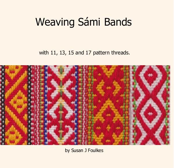 Ebook for sale. Weaving Sámi Bands photo book