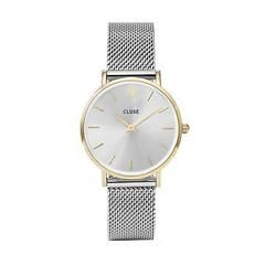 CLUSE Minuit Mesh Watch GOLD / SILVER