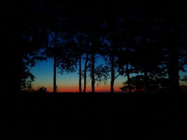Grand Marias, Michigan, sunset