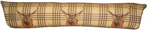 tapestry draught excluder deer