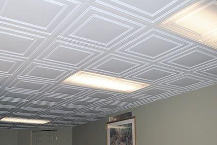 Easy Basement Ceiling