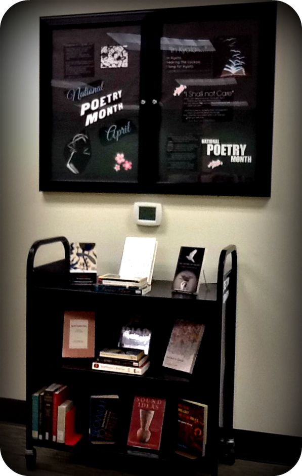National Poetry Month, April | via S. Lang, GHC-Douglasville | via S. Lang, GHC-Douglasville