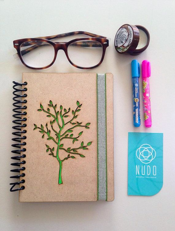 Cuaderno de árbol, revista de árbol, libro para dibujar, escribir diario, cuaderno, diario, cuaderno, libro libro de recuerdos de la memoria, notebook, dibujar, escribir