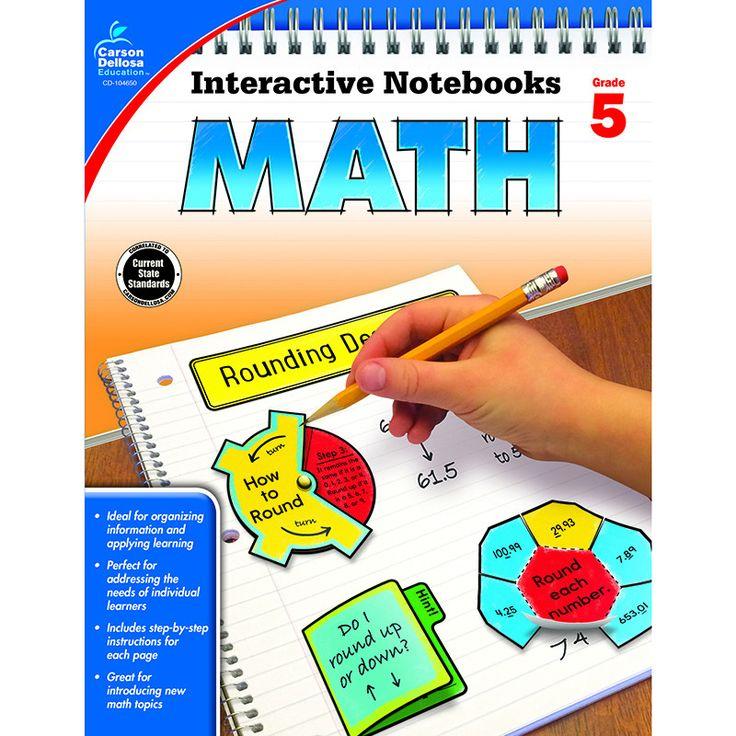 INTERACTIVE NOTEBOOKS MATH GR 5