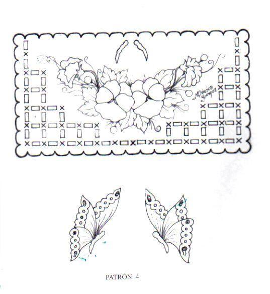 Modele Croix Pergamano