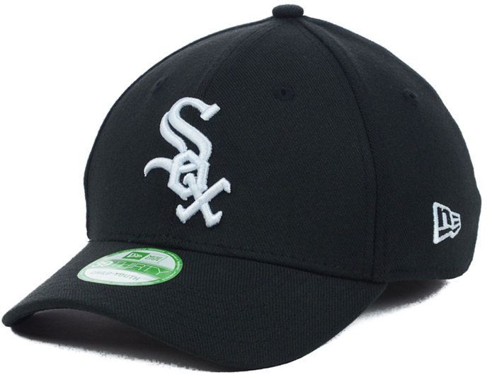 uk availability 3b28b cc05a New Era Chicago White Sox Team Classic 39THIRTY Kids  Cap or Toddlers  Cap    Products