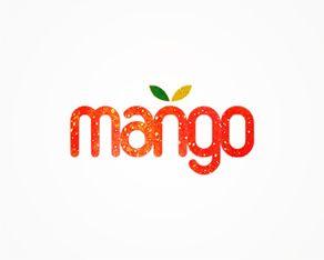 mango logo design  Cute. | repinned by www.drukwerkdeal.nl