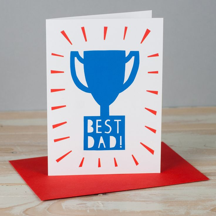 Round up Fathers day cards on HappyMakersBlog.com - Illustration:Allison Hardcastle