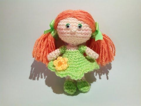 Bambola Amigurumi Uncinetto Tutorial -Muñeca Crochet -Doll Crochet - YouTube