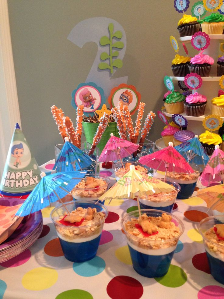 Best 25 bubble guppies cupcakes ideas on pinterest bubble guppies party bubble guppies - Bubble guppie birthday ideas ...