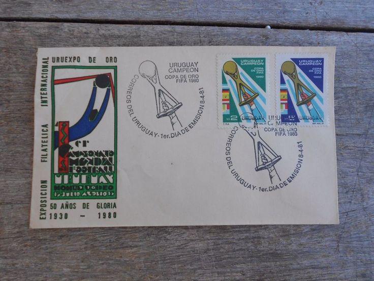 Uruguay 1980 World Cup MUNDIALITO Gold Cup FDC URUGUAY CHAMPION Copa de Oro FIFA    eBay