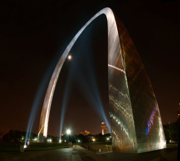 The Gateway Arch and park grounds are about to get a major renovation in time for its 50th anniversary. Description from panoramio.com. I searched for this on bing.com/images