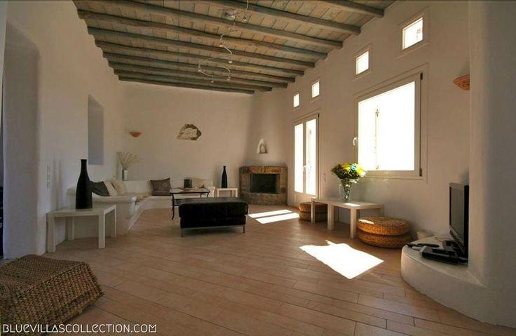Nephele Villa living room