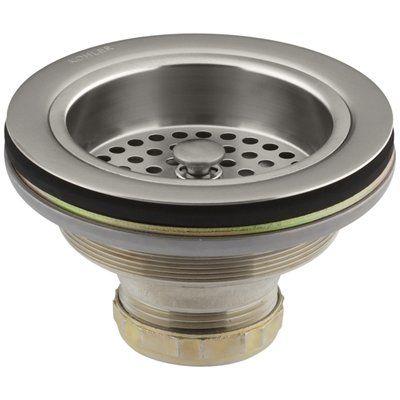 Kohler Duostainer 4.5-in Stainless Steel Garbage Disposal Lock Mount