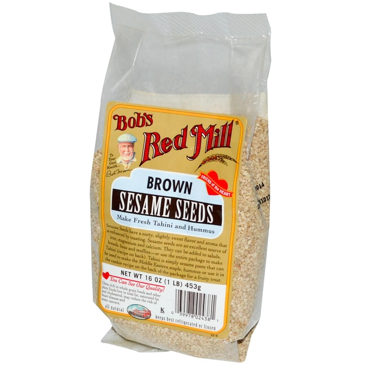 Bob's Red Mill, Brown Sesame Seeds, 16 oz (453 g