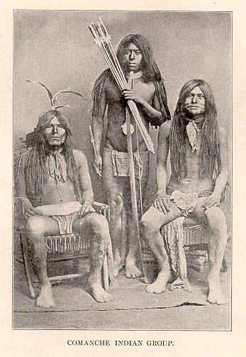 Comanche Indian group -the most brutal and fierce Indians in Texas