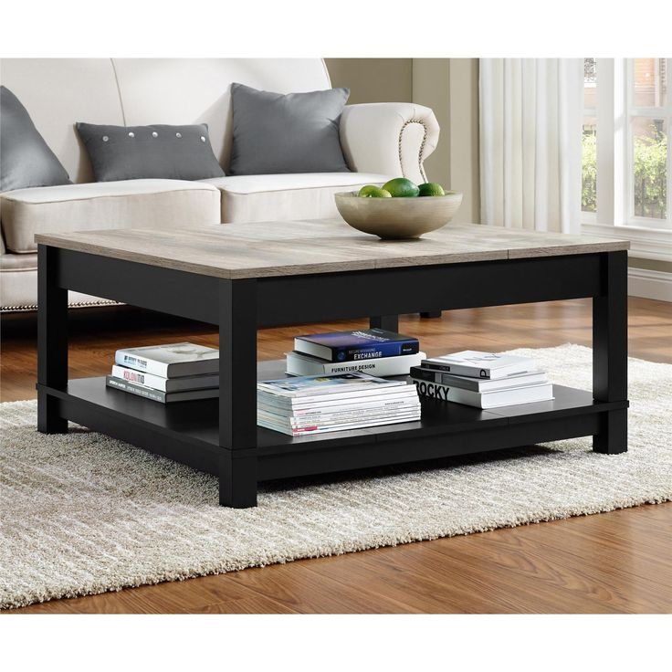 The simple, yet elegant design of the Altra Carver Coffee Table makes it the center piece of your living room. Beautiful and functional with a display shelf for books and more.