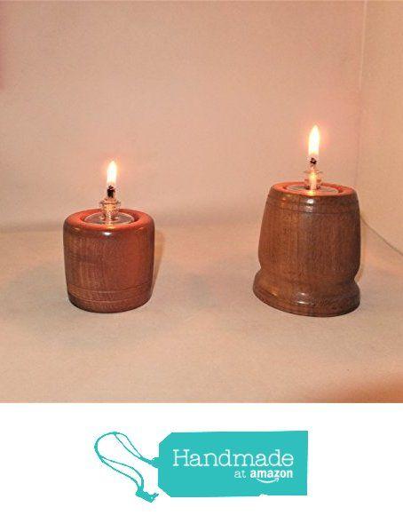 Pair of wood turned oil light holders . from Nigel Peters Woodturnings https://www.amazon.co.uk/dp/B01N1R14TE/ref=hnd_sw_r_pi_awdo_ZRyzybFEW4XW9 #handmadeatamazon