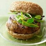 Have a healthy burger and serve with oven baked potato wedges!  Tuna Chilli & Sweetcorn Burgers
