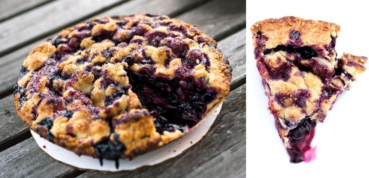 Blueberry pie from the Luscious Little Dessert Company in Yonkers. Photo: Karsten Moran for The New York Times