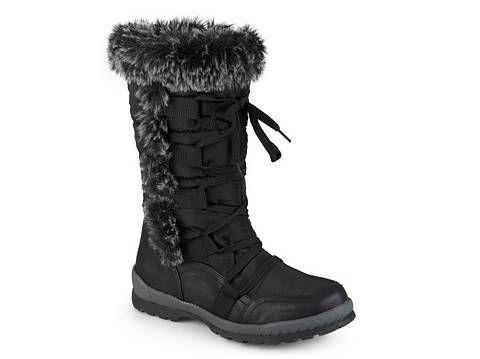 Journee Collection Pelt Snow Boot