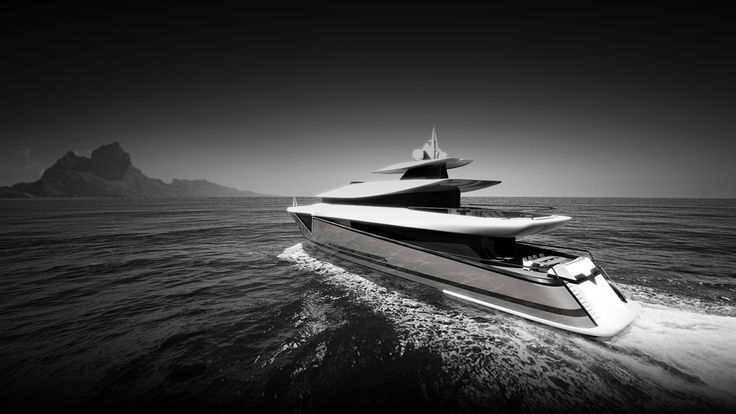ThirtyC - Mako 50M #superyacht #yacht #design #yachtdesign #luxury #illustration www.thirtyc.com