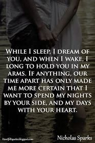 Heartfelt Quotes: Nicholas Sparks Romantic Love Quotes