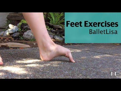 Follow Along Feet Exercises - actually for ballet but will still help