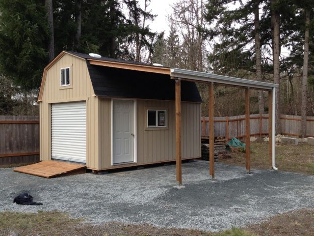 36 best images about future rabbit barn on pinterest for Garden shed with roller door