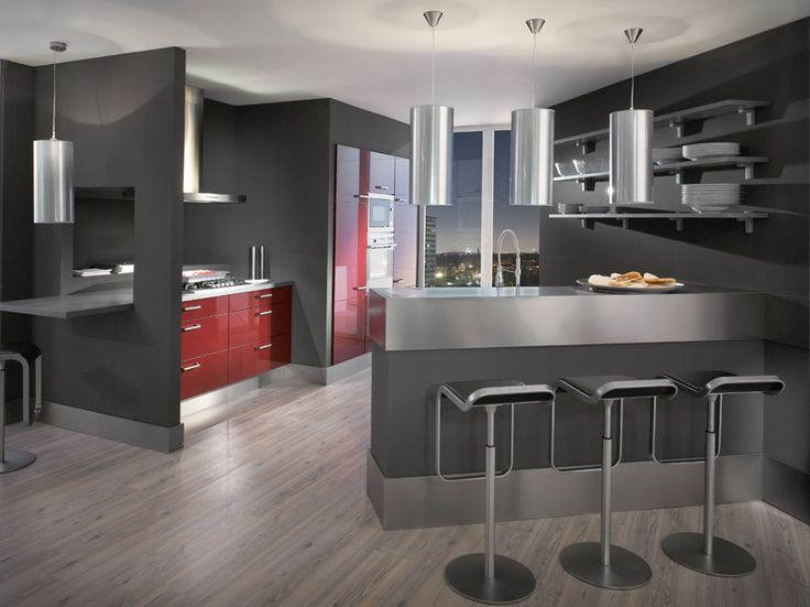 Modern Kitchen ideas 2014 Gray Design