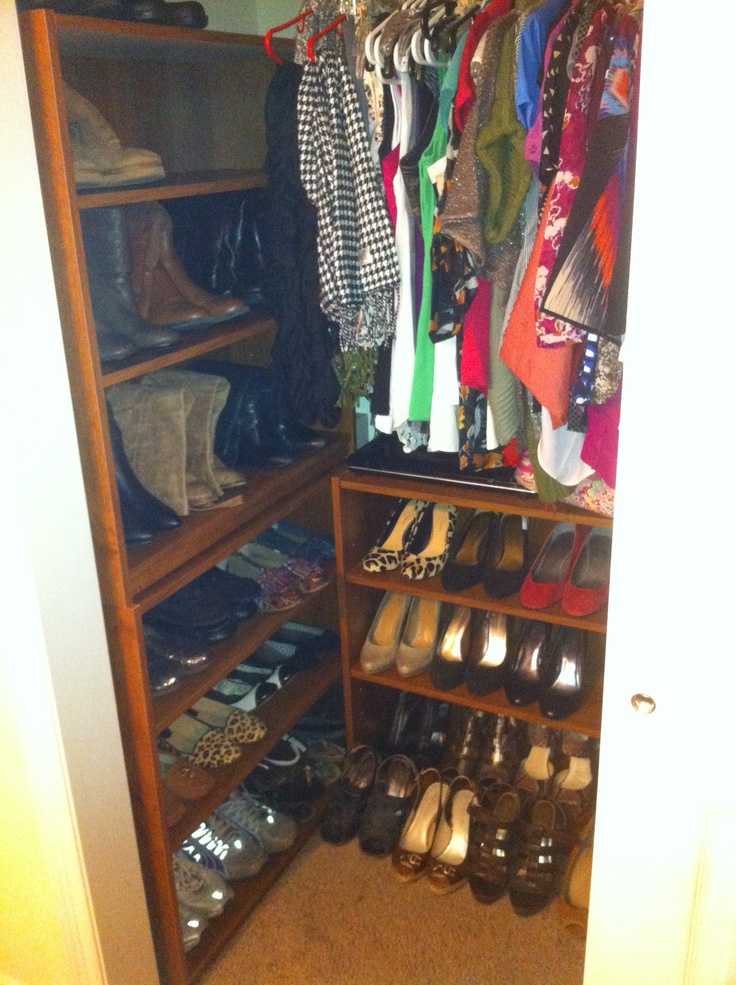 1000 Ideas About Small Apartment Closet On Pinterest