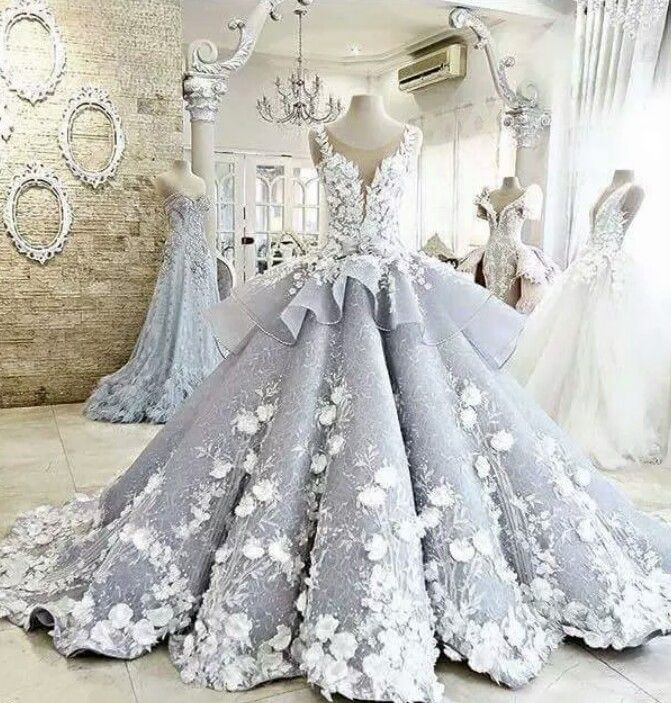 Alicia's tea party gown
