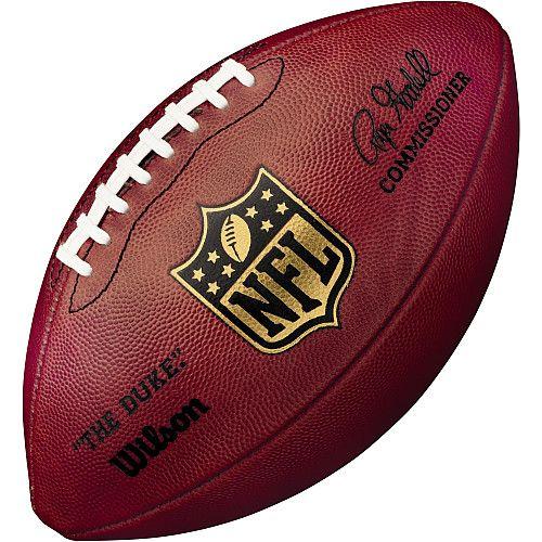 "Wilson Official Size NFL ""Duke"" Leather Game Ball - NFLShop.com"