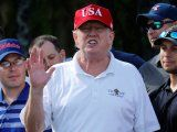 The Trump Organization may have broken the law after ordering golf course markers with the presidential seal