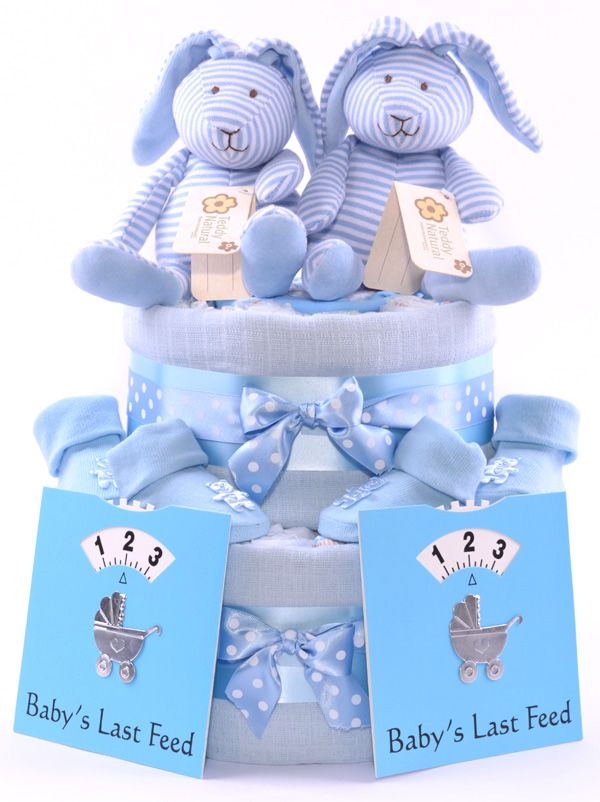 best girls baby shower nappy cakes  baby gift hampers images, Baby shower invitation