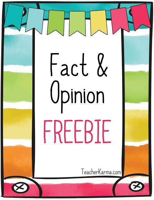 Fact & Opinion FREEBIES!    FACT:something done or said in the past or present; it can be proven  OPINION:a belief opinion or idea  The Fact & Opinion FREEBIE comes with the following resources:  Fact & Opinion anchor chart  Fact & Opinion Organizer  Fact & Opinion Pictures: Ice Cream  Please click hereor on the graphic below to get your FREE fact and opinion resources.  Best wishes!   comprehension fact & opinion fact and opinion freebie free reading resources teacherkarma.com