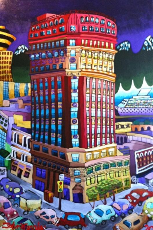 """The Dominion,  48"""" x 72"""", acrylic on canvas, 2012"""