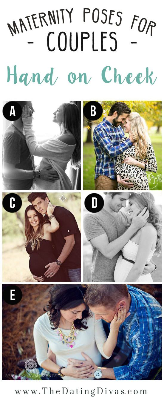 Best Poses for Maternity Photo Session- for couples!