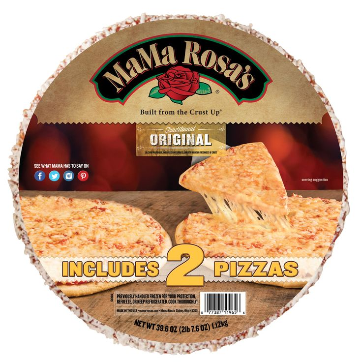 Large Original 2-Pack Pizza from MaMa Rosa's