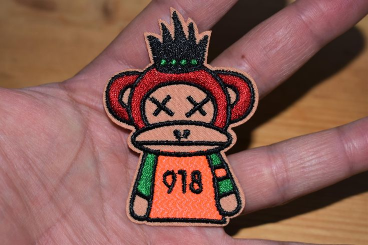 Excited to share the latest addition to my #etsy shop: King monkey - Iron stick Embroidered patch/applique For T-Shirts,Hats,Jackets,Pants, Vintage Collection supreme quality. http://etsy.me/2EF8syO #supplies #birthday #easter #hatmakinghaircrafts #embroideredpatch #ir