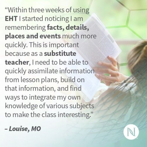 Don't let stress get in the way of success. Try Nerium's EHT and get your mind on the right track!  http://nerium.io/srx