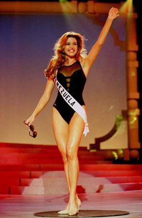 Alicia Machado en su Presentacion en Traje de Baño... Miss Universo 1996 en la Vegas