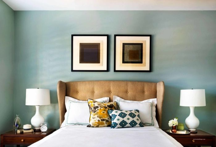 kreative wandgestaltung mit farbe wanddesign ideen steinptik mehr licht minz pinterest - Wanddesign Ideen