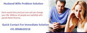 How to Solve Husband Wife Problem With Vashikaran Specialist ? +91-8968620218 One of the main problems faced by societies is often the problems of husband and wife. This solution of the husband's wife problem can be easily done with the help of the love problem solution astrologer. He can easily handle mood swings such as the negative mentality and emotional tantrums of people who are married to avoid most of the disputes and problems between them.