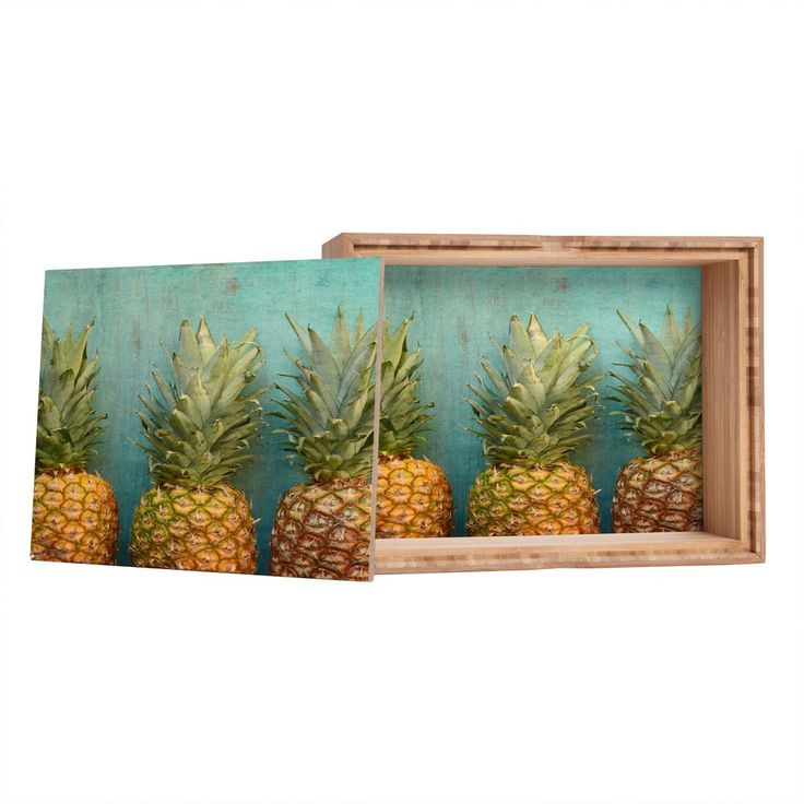 Olivia St Claire Tropical Storage Box | DENY Designs Home Accessories