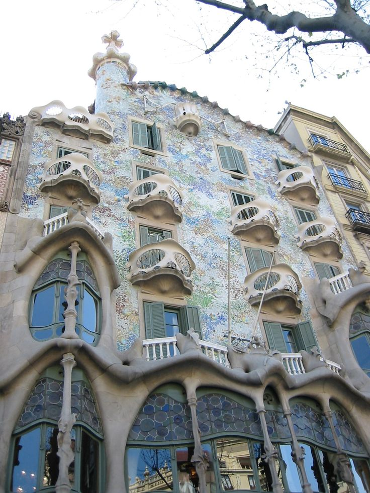146 best The Gaud Buildings in Barcelona images on Pinterest
