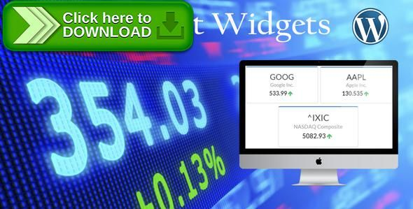 [ThemeForest]Free nulled download Stock Market Widgets from http://zippyfile.download/f.php?id=54725 Tags: ecommerce, Financial data, Financial Markets, stock market, stock plugin, stock quote, stock screener, stock ticker, stock trading, stock widget, trading